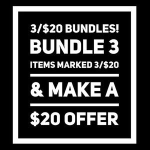 Half my closet just went on sale for 3/$20!